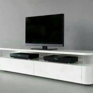 Simple White Tv Stand