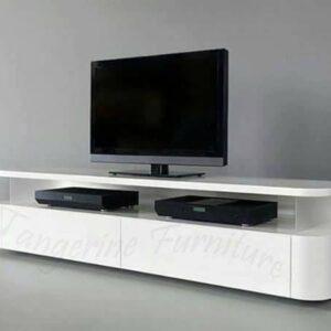 White Elegant Tv Stand