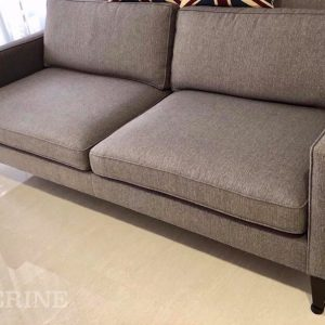3 seater slim box arm sofa