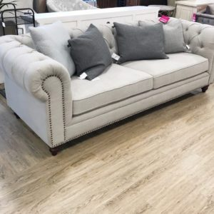 Spacious 3 seater chesterfield