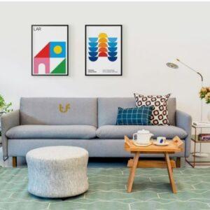 Simplified Sofa 3 seater